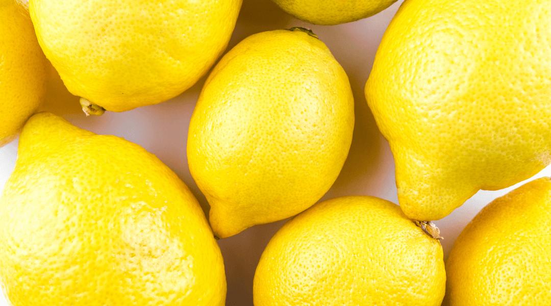 Le citron est un très bon anticalcaire pour les robinets