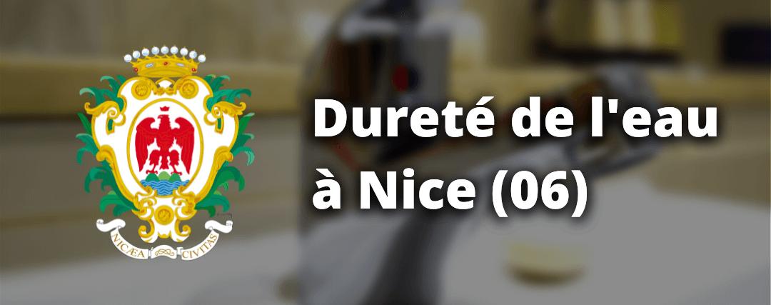 Quelle est la dureté de l'eau dans la ville de Nice