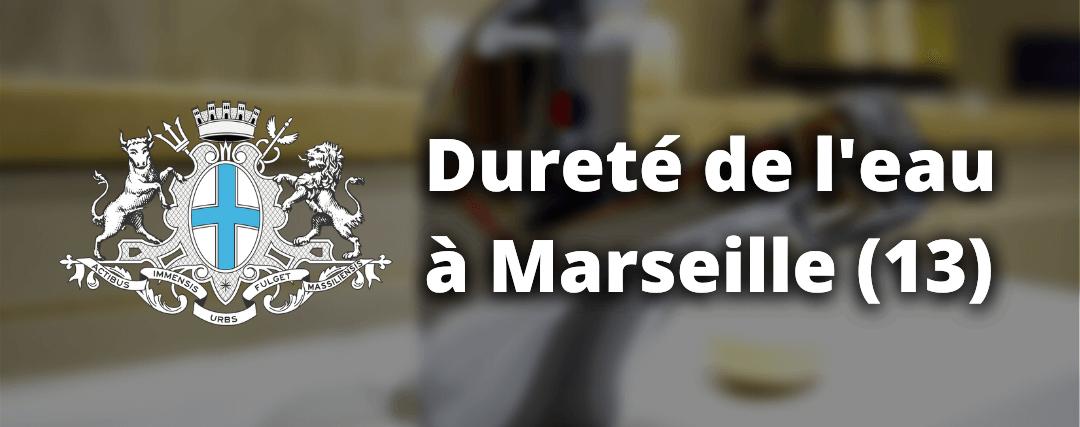 Dureté de l'eau à Marseille