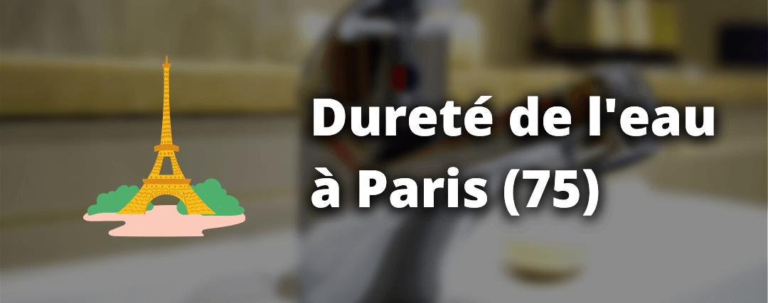 Dureté de l'eau à Paris