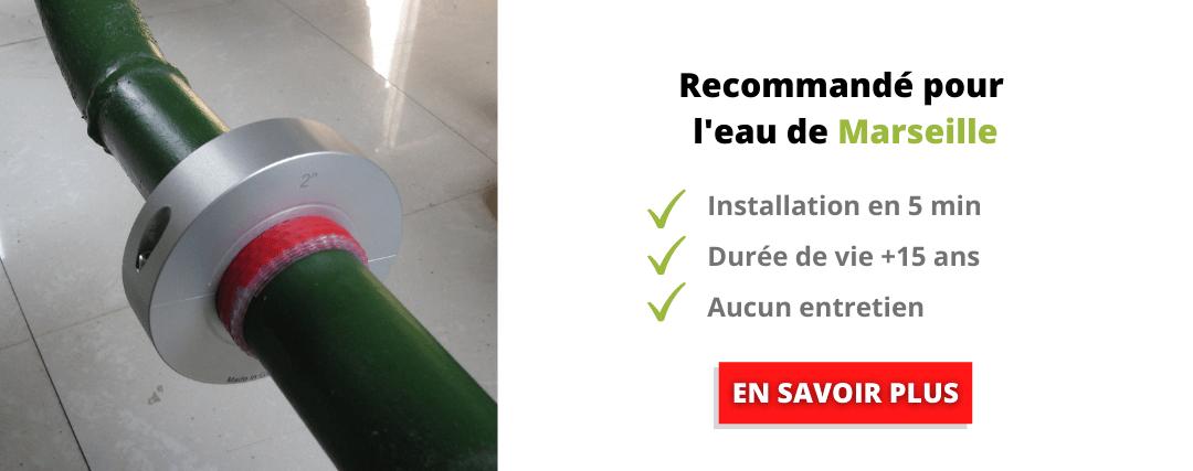 Traitement de l'eau recommandé pour la dureté de l'eau à Marseille