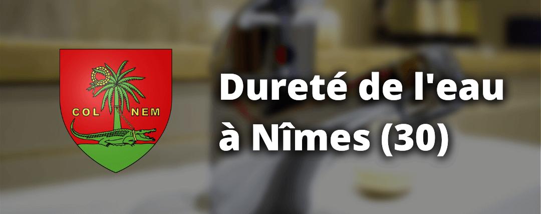 Dureté de l'eau à Nîmes